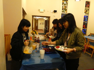 day 3 ②-1 welcome breakfast.JPG