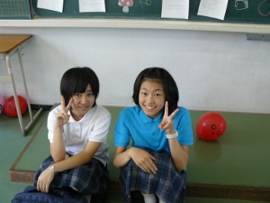 g2 9-12-10 second grader and friend in classroom.JPG